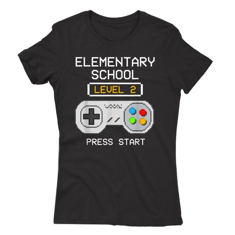 2nd Grade Gamer T-shirt Back To School Game Shirts Gift