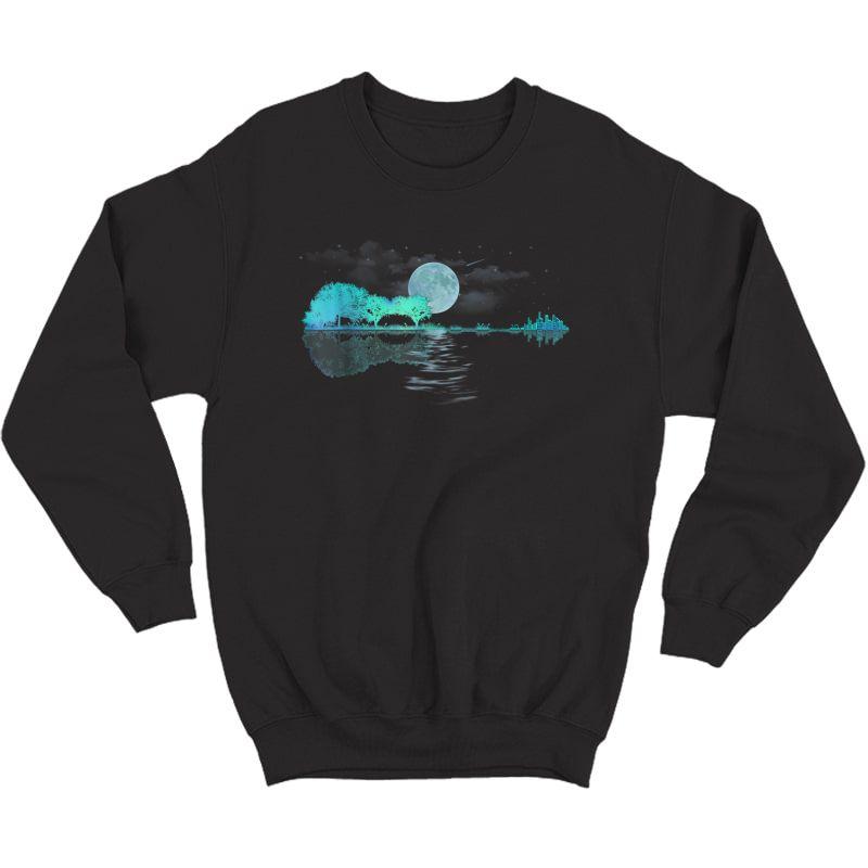 Acoustic Guitar Player T Shirt, Birthday, Christmas Gift Crewneck Sweater