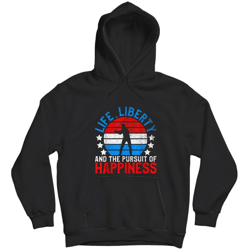 American Golf Shirt | Funny Usa Golfing July 4th Golfer Gift T-shirt Unisex Pullover Hoodie