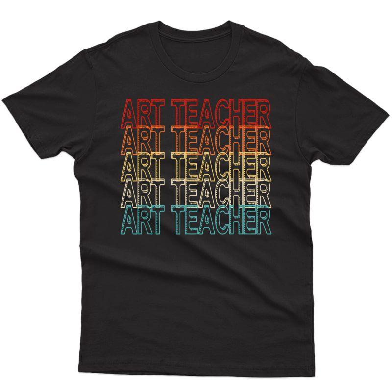 Art Tea Tea Art Drawing Painting Retro Draw Vintage T-shirt