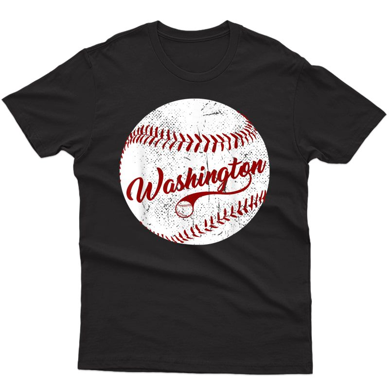 Baseball Washington Dc Team, Love Baseball National Pastime T-shirt