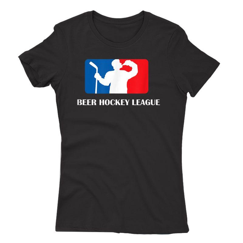 Beer Hockey League T-shirt Adults