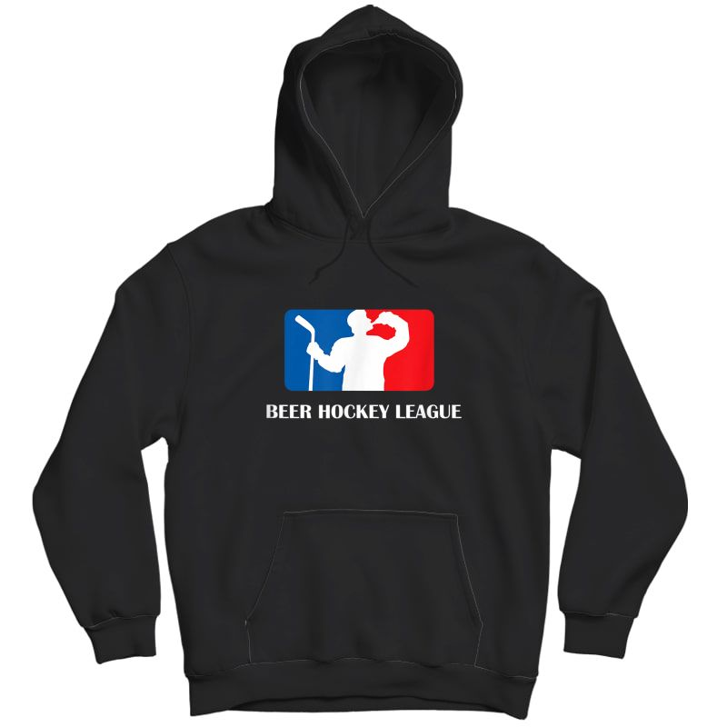 Beer Hockey League T-shirt Adults Unisex Pullover Hoodie