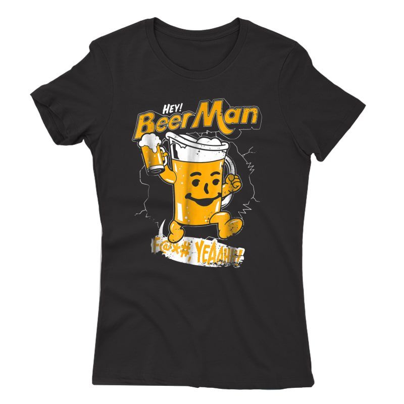 Beerman Funny Beer Lover Gift International Beer Day Shirt T-shirt