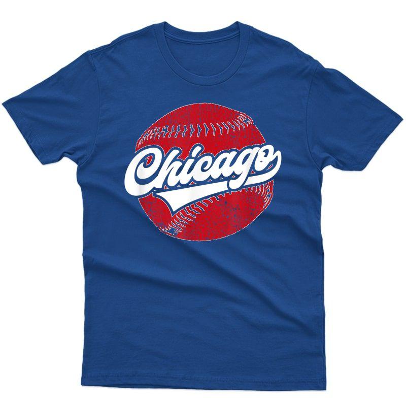 Chicago Baseball | Vintage Baseball Gift T-shirt