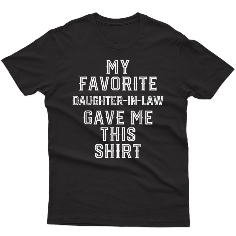 Christmas Gift For Father Mother In Law Funny Birthday Gifts Shirts