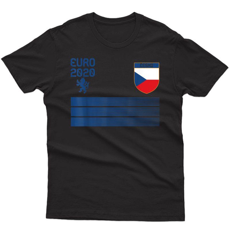 Cool Czech Republic Football 2020 Soccer Store T-shirt