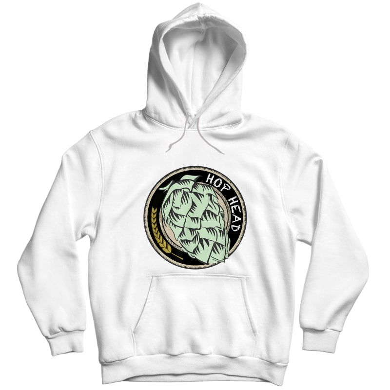 Cool Ipa Craft Beer Snob Novelty Hop Logo Print Brewing Logo T-shirt Unisex Pullover Hoodie