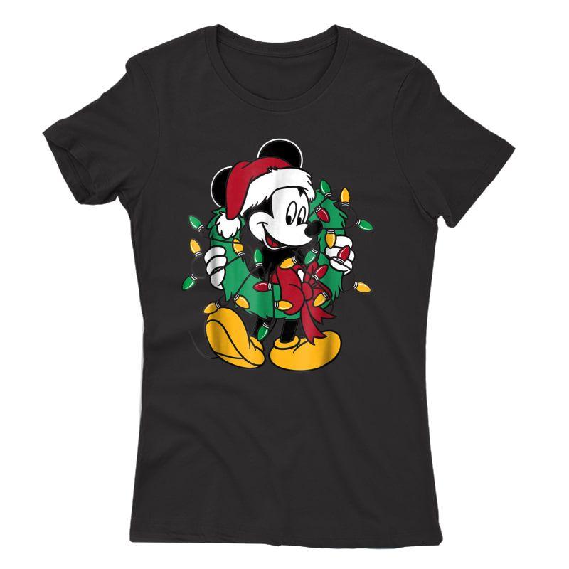 Disney Mickey Mouse Christmas Lights T-shirt