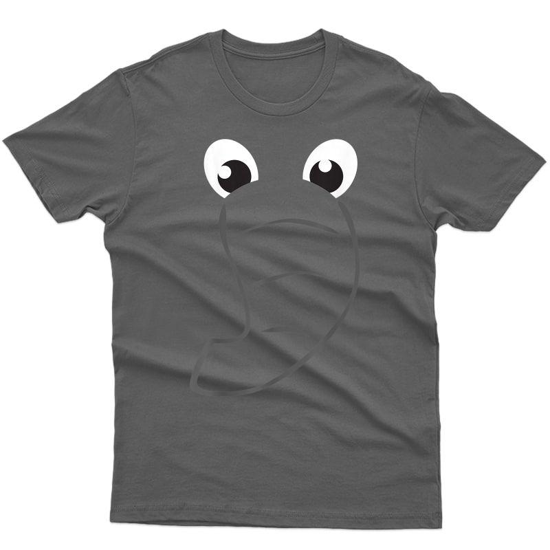 Elephant Face Shirt Cute Halloween Costume Animal Gift