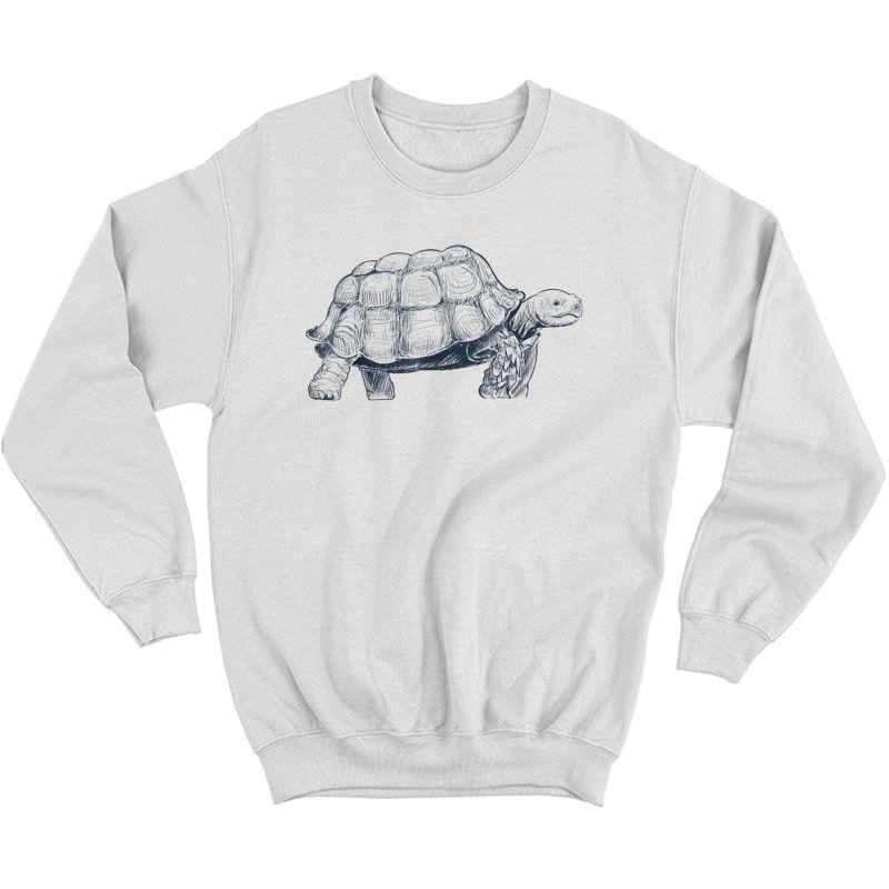 Fast Turtle Running Shirt Crewneck Sweater