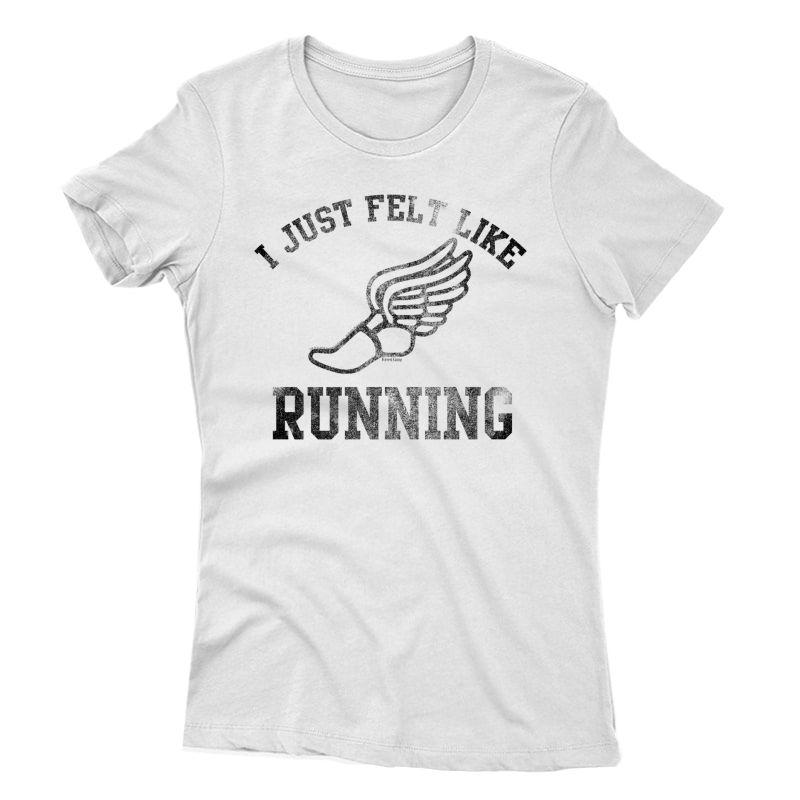 Forrest Gump I Just Felt Like Running Premium T-shirt