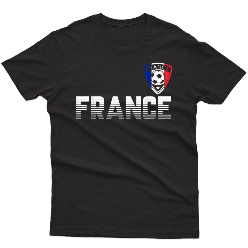France Soccer 2021 French Football Team Fan T-shirt