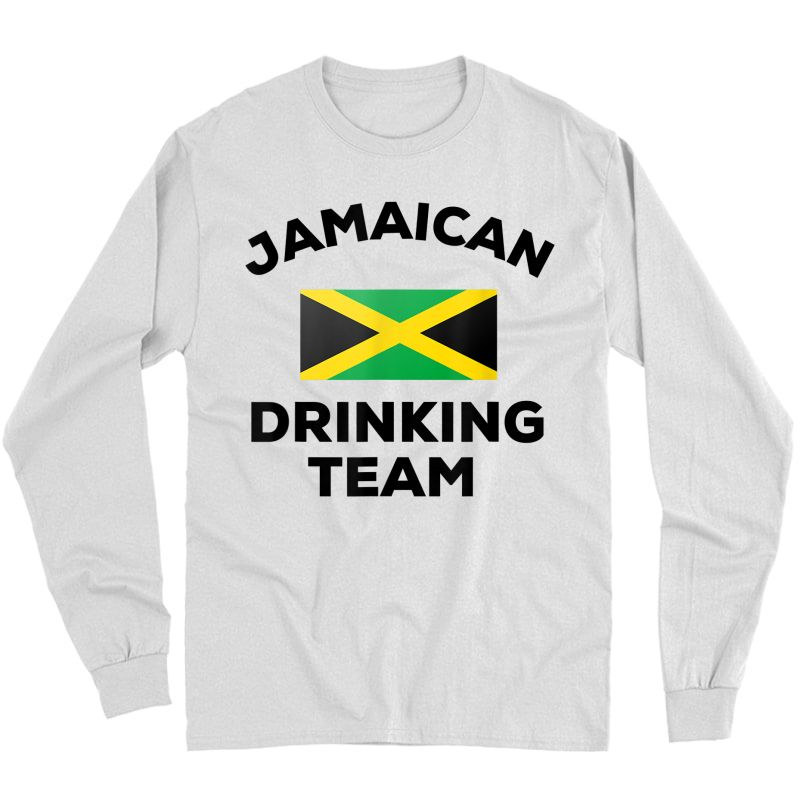 N Drinking Team Funny Beer Flag Party Gift T-shirt Long Sleeve T-shirt
