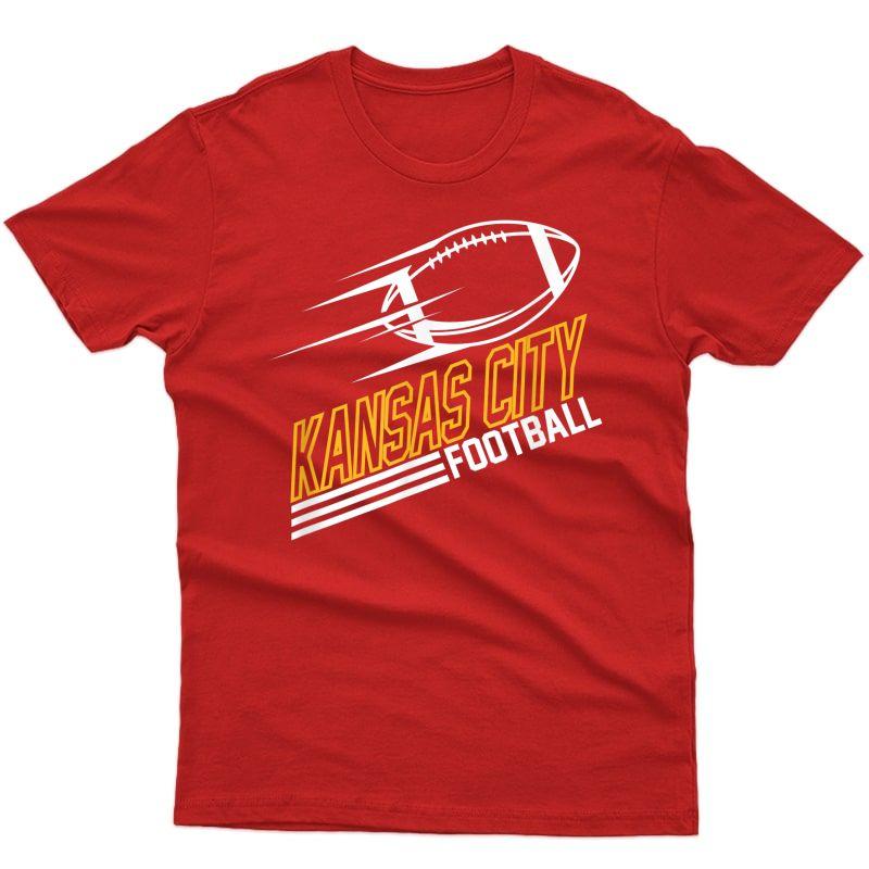 Kansas City Football Streamline T-shirt