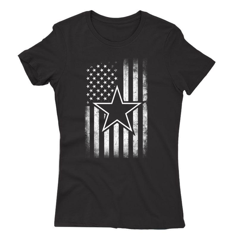 S Gift Cowboy Flag Football Dallas Fans T-shirt
