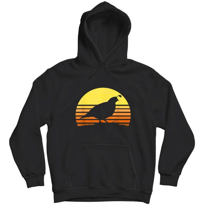 Quail Hunting Upland Bird Game Hunter Shooting Sports Gift T-shirt Unisex Pullover Hoodie