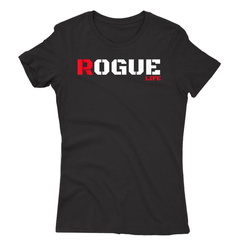 Rogue Bad Boy T Shirt Gaming Gamer Humor Tshirt Military Tee Tank Top