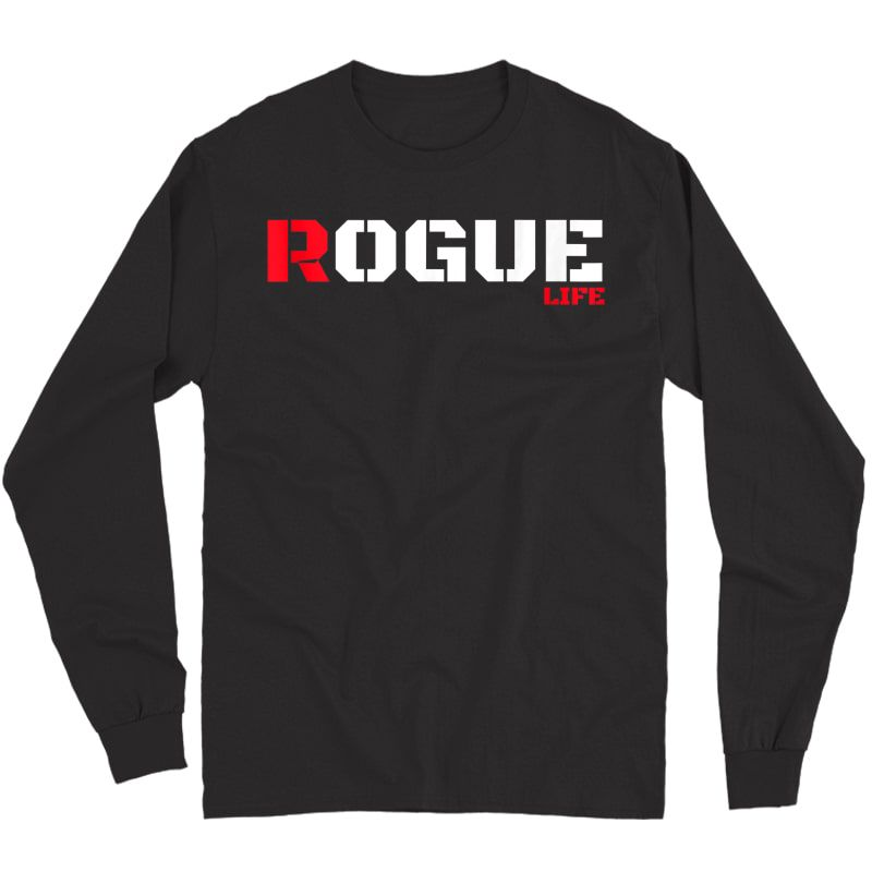Rogue Bad Boy T Shirt Gaming Gamer Humor Tshirt Military Tee Tank Top Long Sleeve T-shirt