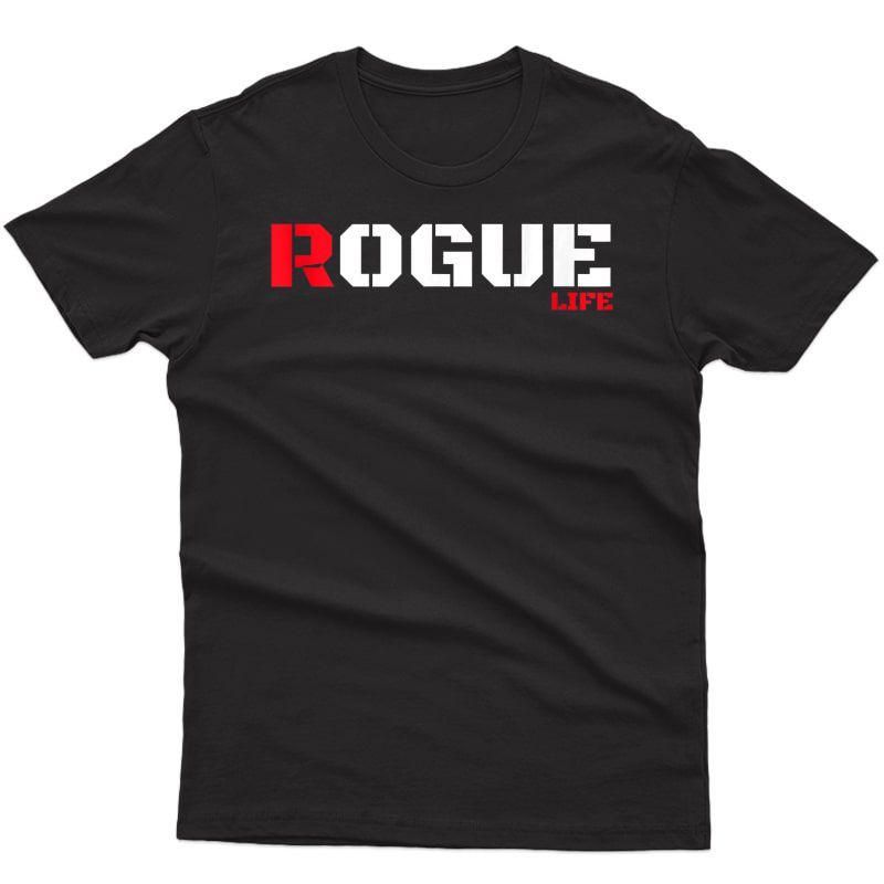 Rogue Bad Boy T Shirt Gaming Gamer Humor Tshirt Military Tee Tank Top