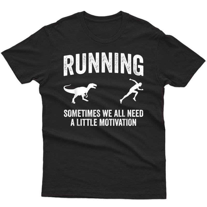 Running Motivation Raptor Chase Tshirt