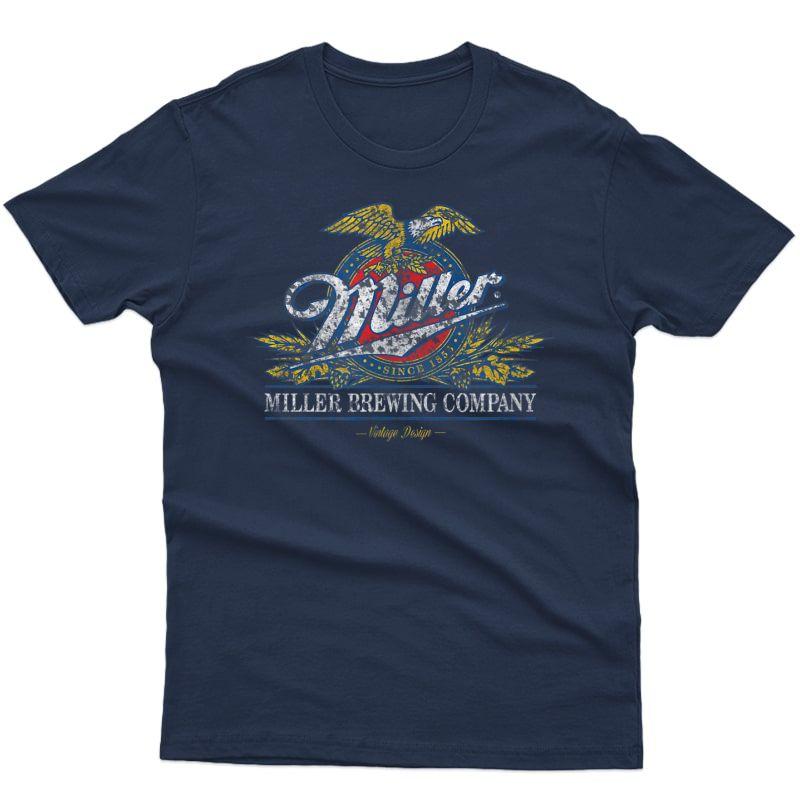 Standard Miller Eagle Crest Beer T-shirt