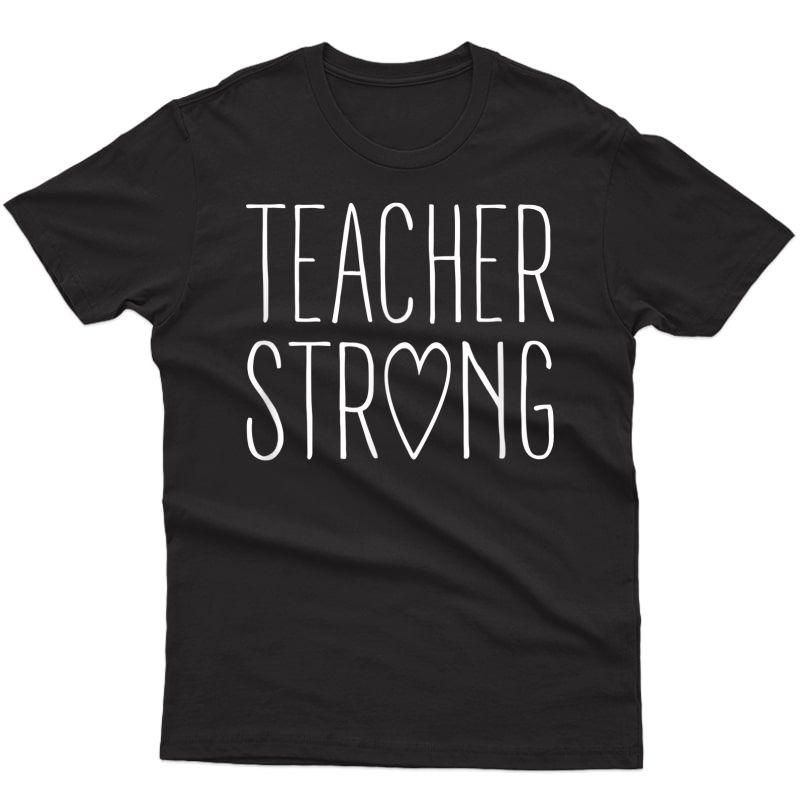 Strong Tea Shirt Great Inspirational Tea Gift T-shirt