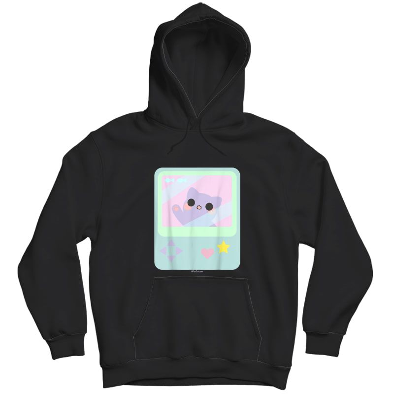 Super Kawaii Gamer Cat Kitty Pastel Anime Inspired T-shirt Unisex Pullover Hoodie