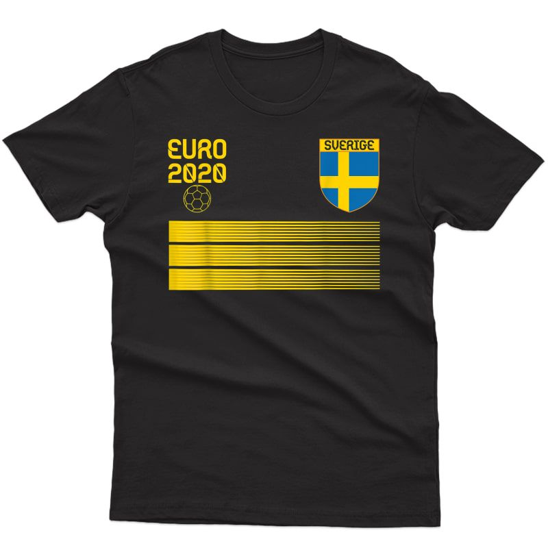 Sweden Football 2020 Sverige Soccer T-shirt
