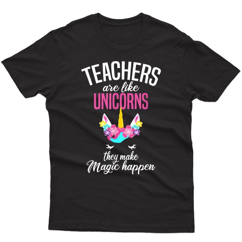 Teas Are Like Unicorns - Tea Appreciation T-shirt