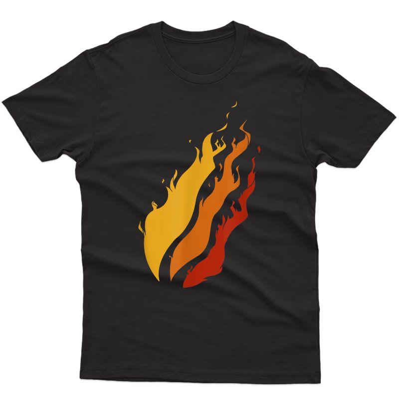 Team Fire Nation Streamer Playz Gamer Flame T-shirt T-shirt