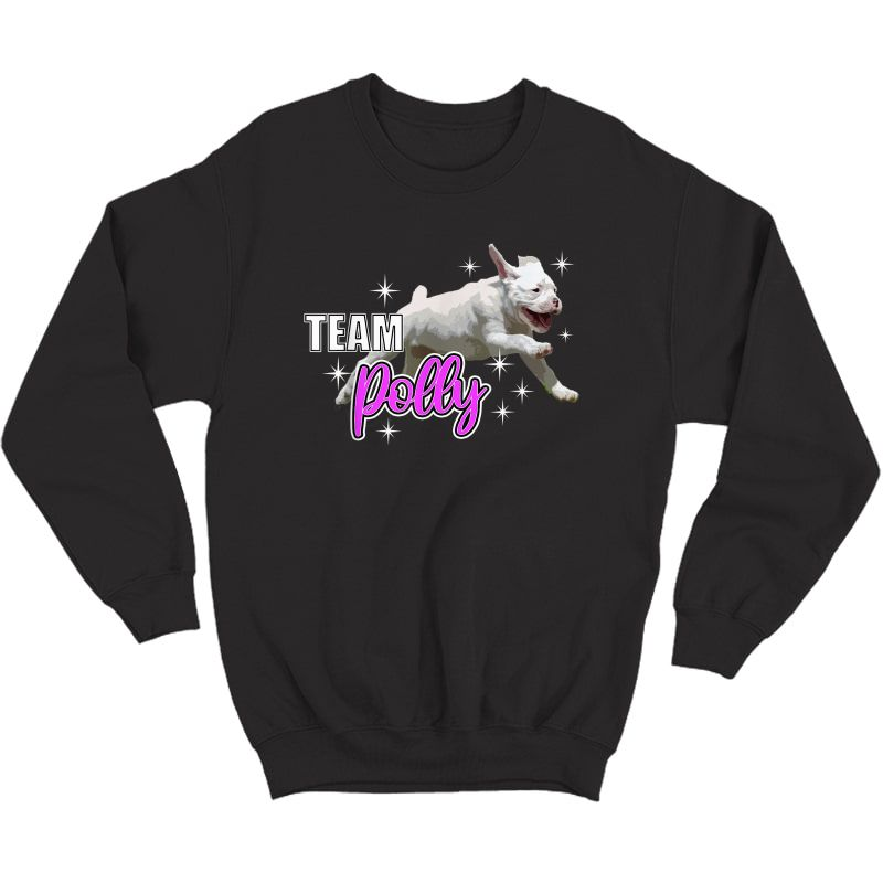 Team Polly Running For Joy T-shirt Crewneck Sweater