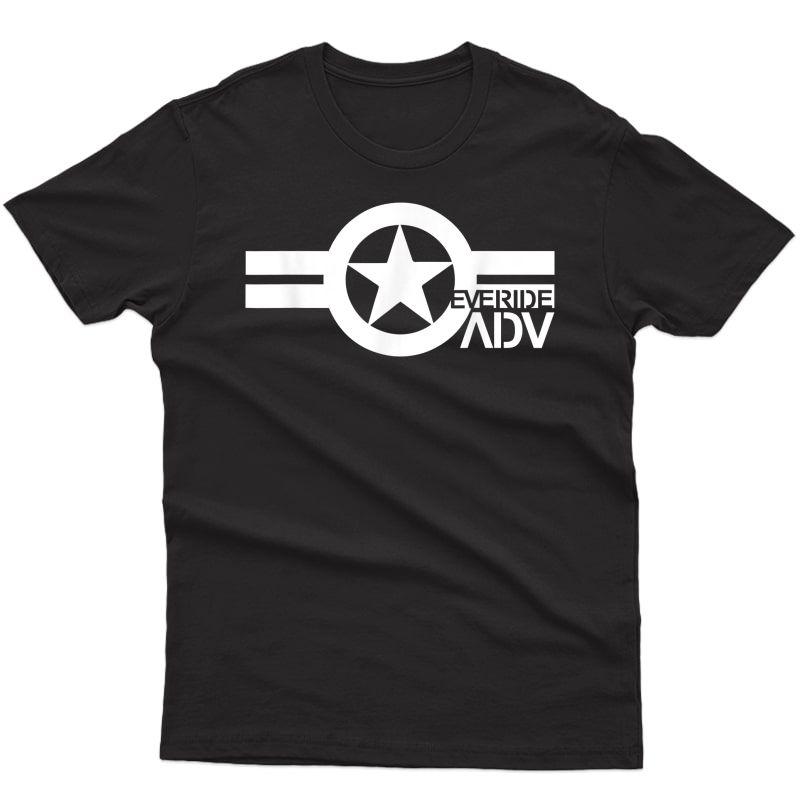 The #everide Adv Pilot Logo T Shirt
