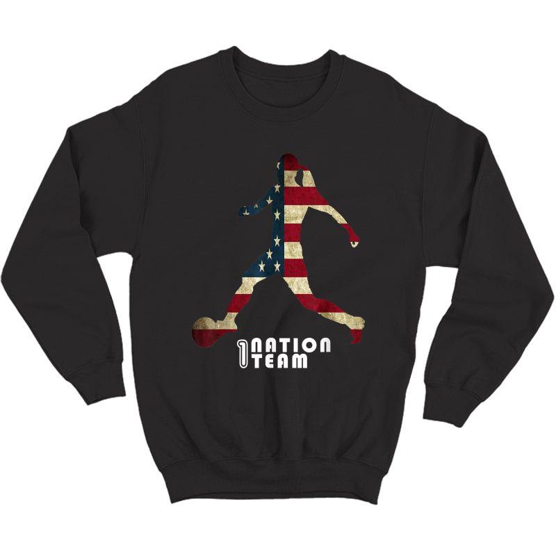 Us. Soccer Team Player Fan T-shirt Crewneck Sweater