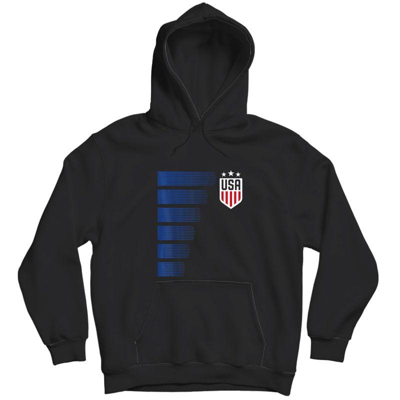 Usa T-shirt | Cool Usa Soccer T-shirt S  Unisex Pullover Hoodie