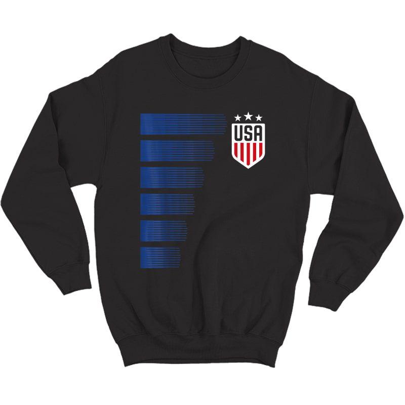 Usa T-shirt | Cool Usa Soccer T-shirt S  Crewneck Sweater