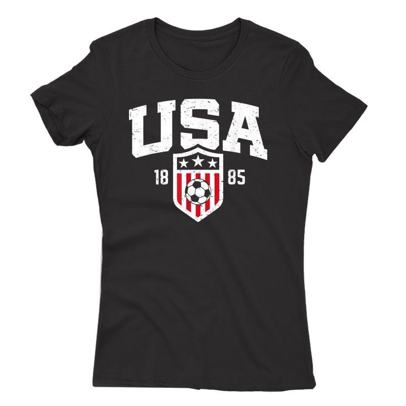 Usa T-shirt   Vintage Usa Soccer T-shirt S