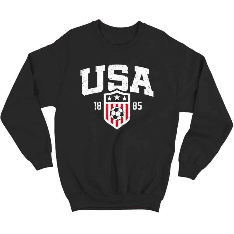 Usa T-shirt   Vintage Usa Soccer T-shirt S  Crewneck Sweater
