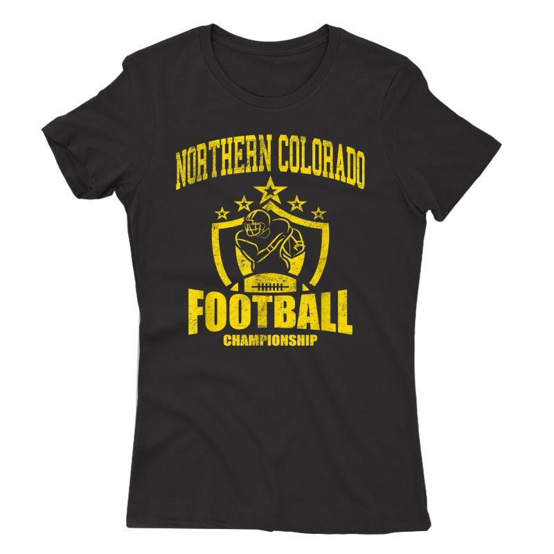 Vintage Northern Colorado Football T-shirt