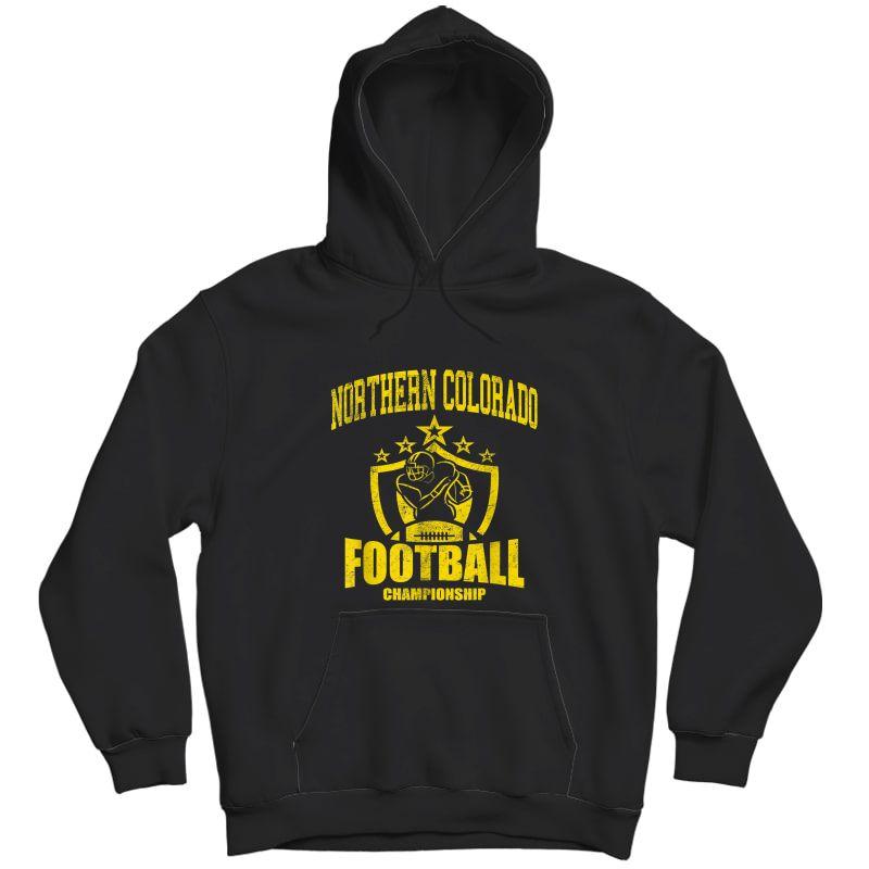 Vintage Northern Colorado Football T-shirt Unisex Pullover Hoodie
