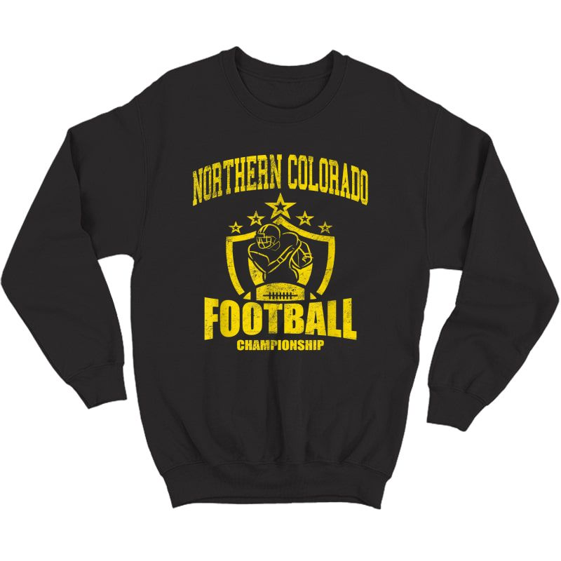 Vintage Northern Colorado Football T-shirt Crewneck Sweater