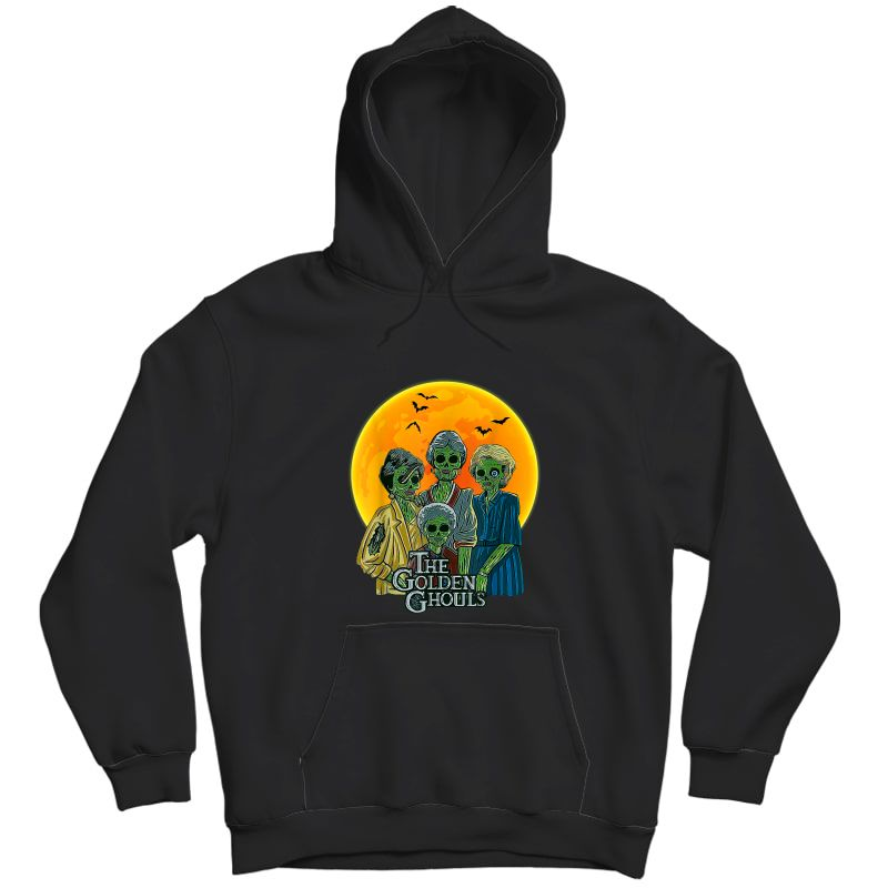 Vintage The Golden Ghouls Custom Gift For Halloween T-shirt Unisex Pullover Hoodie