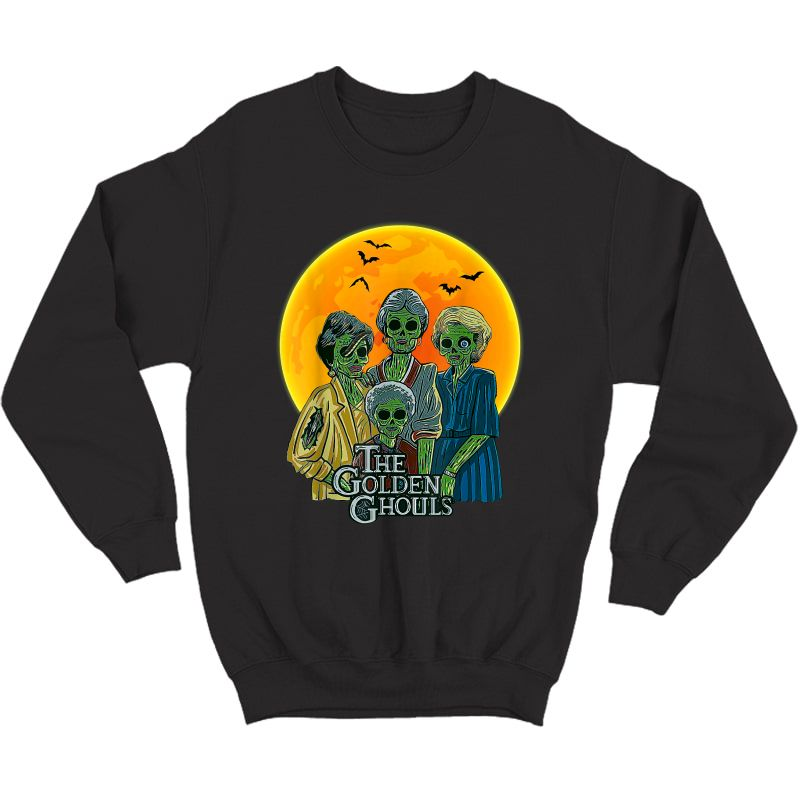 Vintage The Golden Ghouls Custom Gift For Halloween T-shirt Crewneck Sweater