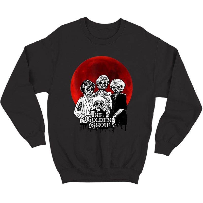 Vintage The-golden-ghouls-sunset Halloween Tee T-shirt Crewneck Sweater