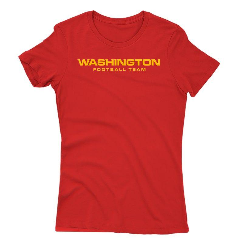 Washington Football Dc Sports Team Novelty T-shirt