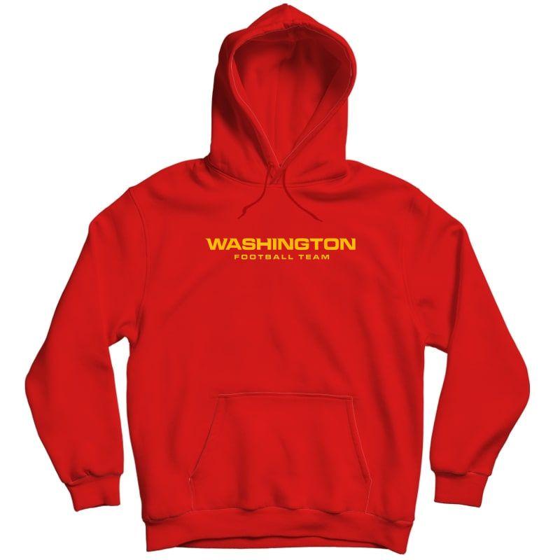 Washington Football Dc Sports Team Novelty T-shirt Unisex Pullover Hoodie