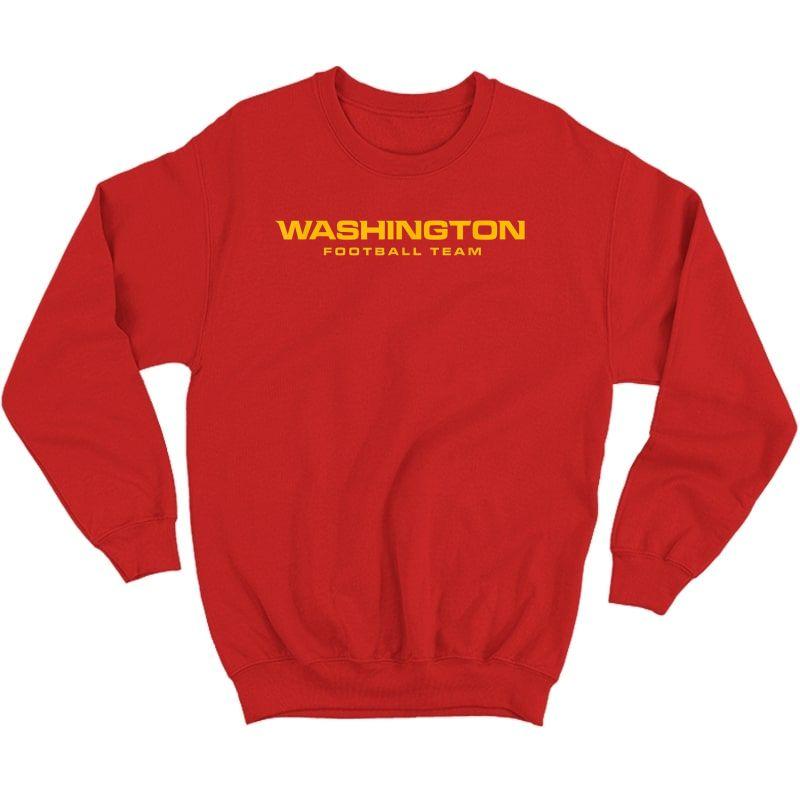 Washington Football Dc Sports Team Novelty T-shirt Crewneck Sweater