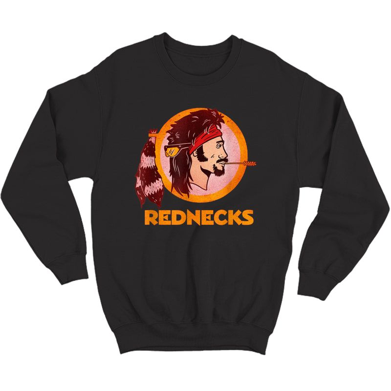 Washington Rednecks Football Caucasians Vintage Shirt T-shirt Crewneck Sweater