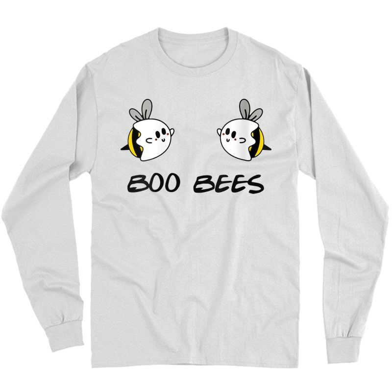 Boo Bees Beekeepers Halloween Funny Gift For T-shirt Long Sleeve T-shirt