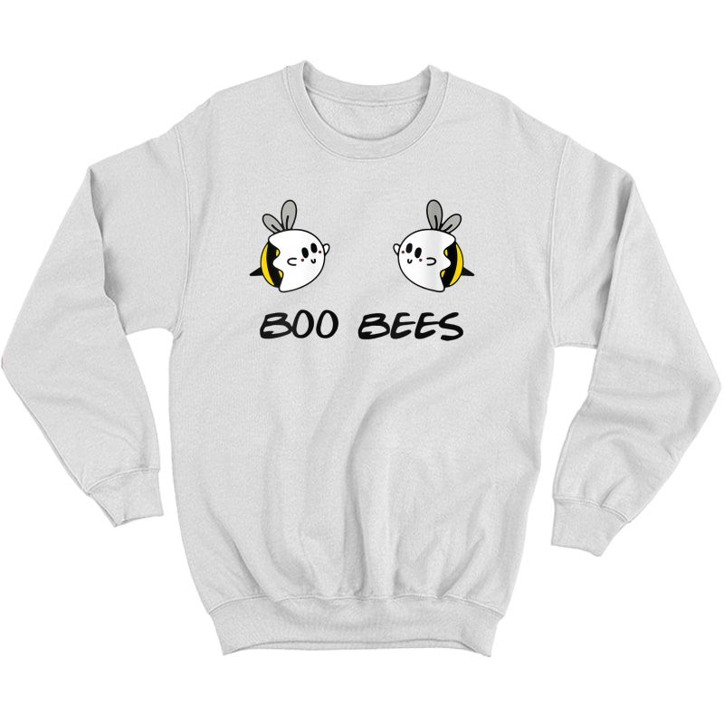 Boo Bees Beekeepers Halloween Funny Gift For T-shirt Crewneck Sweater